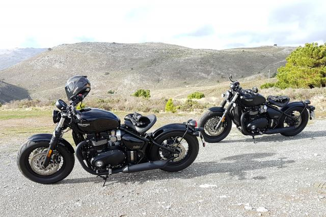 Triumph Bobber Black review: quick riding impressions