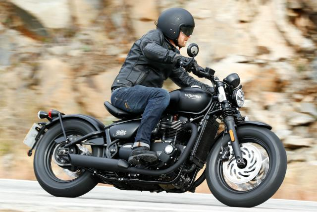 First ride: Triumph Bobber Black review