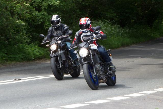 Yamaha MT-07 vs Suzuki SV650