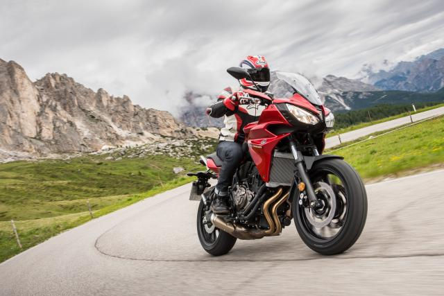 Yamaha Tracer 700 video review