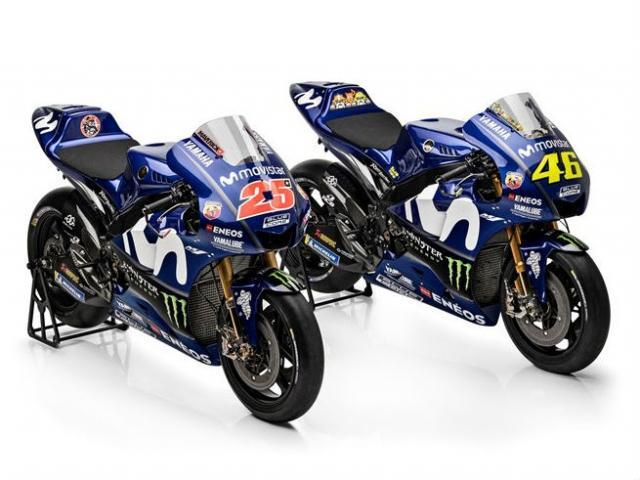 MotoGP: Yamaha reveals 2018 M1 colours