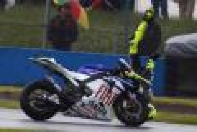 MotoGP: Rossi crash sequence