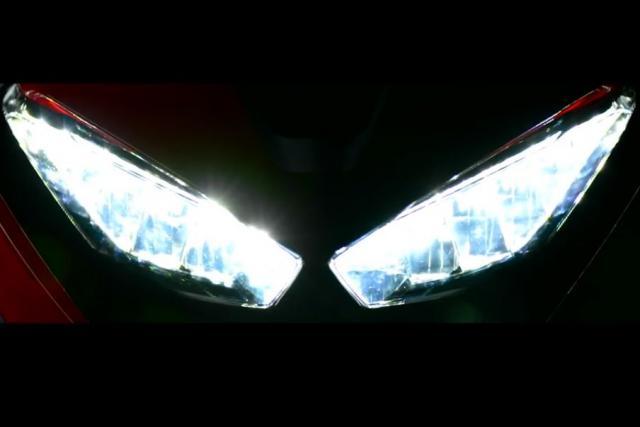 2017 Honda Fireblade headlights