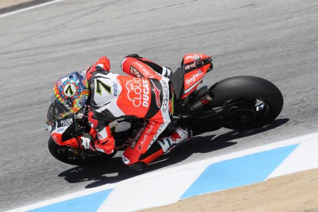 Chaz Davies, Laguna Seca, World Superbike [Credit: Gold and Goose]