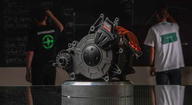 Energica EMCE electric motor