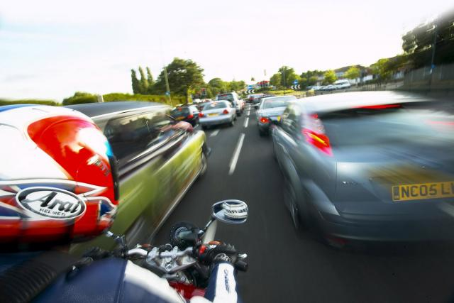 Five tips for safe motorcycle filtering