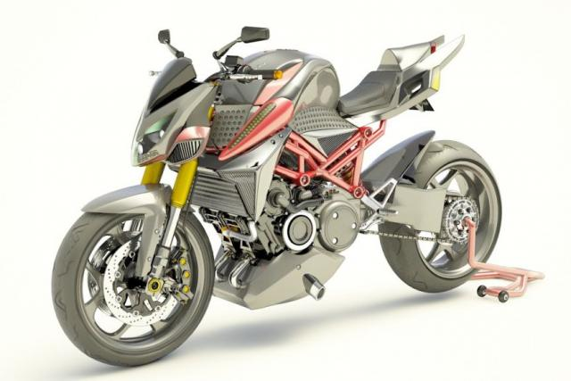 Furion M1 motorcycle