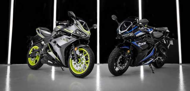 Lexmoto LXS 125cc Euro 5 motorcycle