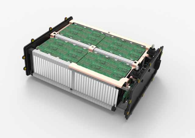 Mahle electric battery concept