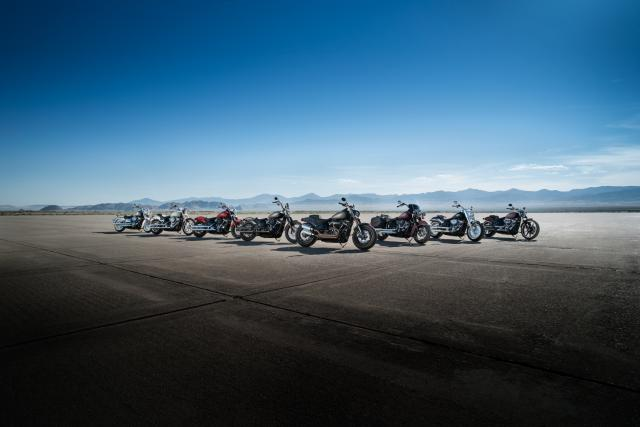 Harley-Davidson 2018 Softail line-up