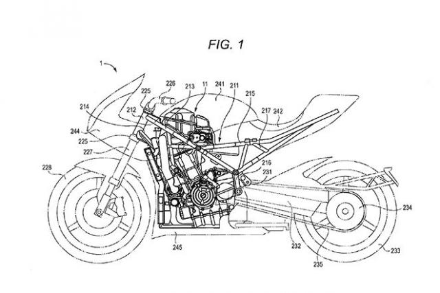 Suzuki turbo engine patent