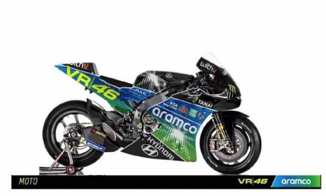 Valentino Rossi, VR46, Aramco,