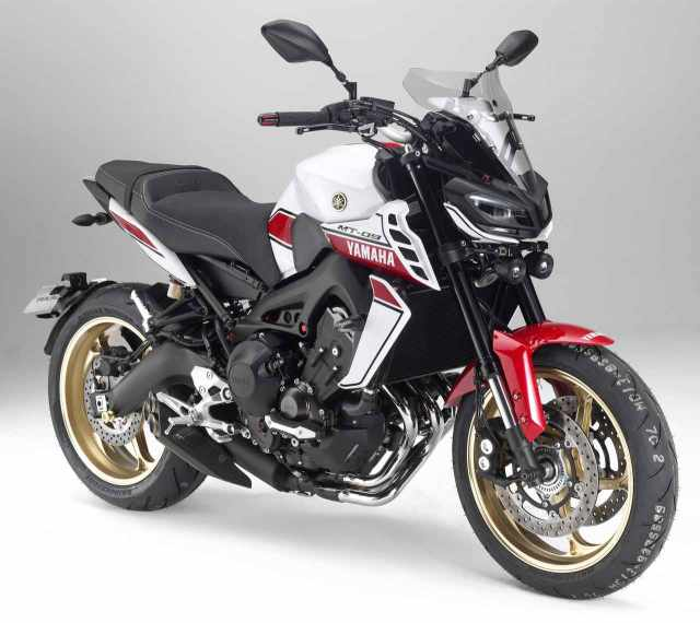 Yamaha launches MT-09 and SCR950 custom conversion kits with a hint of the Eighties