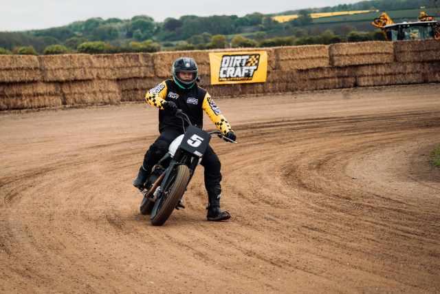 flat track riding alex visordown