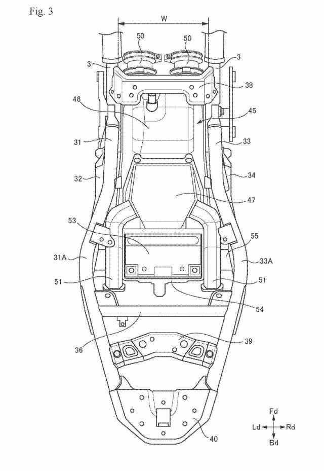 New Suzuki 700cc parallel-twin patents emerge online