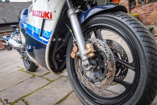 GSX-R750F front brake