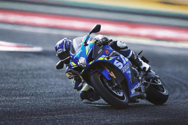 Suzuki enhances GSX-R1000 with new MotoGP colour scheme