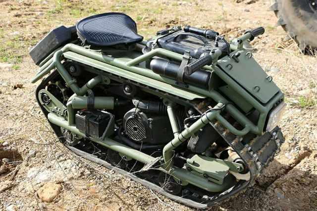 Hamyak ATV mono track vehicle