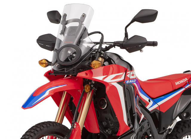 Honda CRF300 Rally headlight