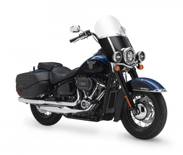 Harley Davidson Heritage Classic anniversary model