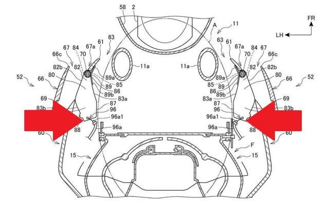 Honda CBR1000RR Fireblade aero