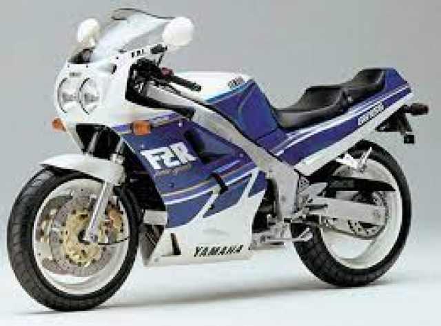 1987 Yamaha FZR1000R Genesis