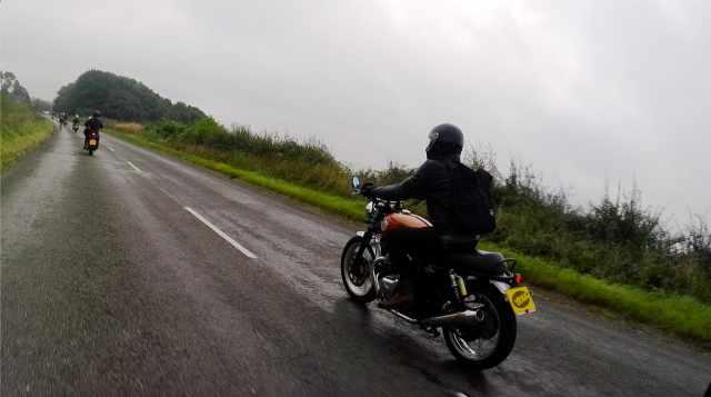 interceptor 650 riding