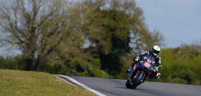 Jason OHalloran riding McAMS Yamaha