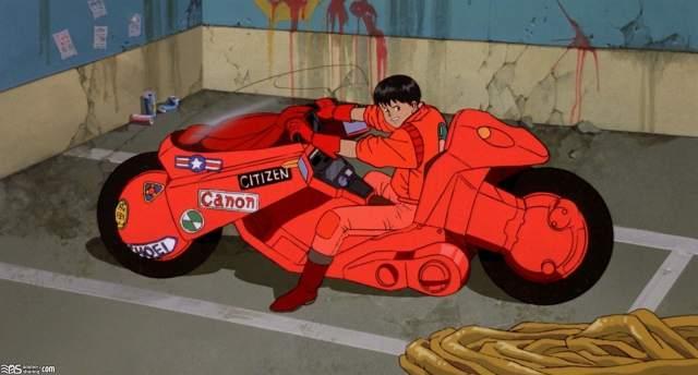 kaneda motorcycle akira