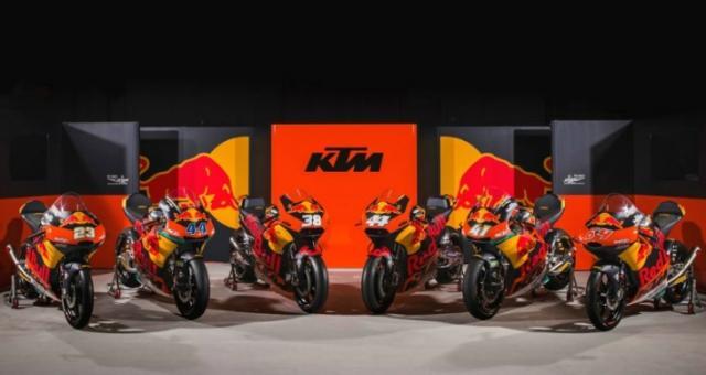 KTM, MotoGP, Moto2, Moto3