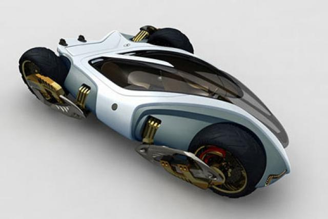 Ten of the weirdest motorcycle concepts
