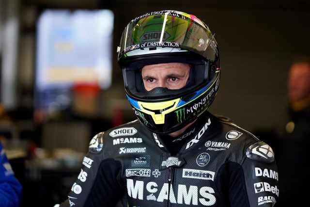 McAMS Yamaha Jason OHalloran helmet