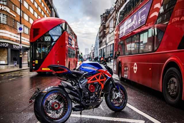 mv agusta london buses dragster