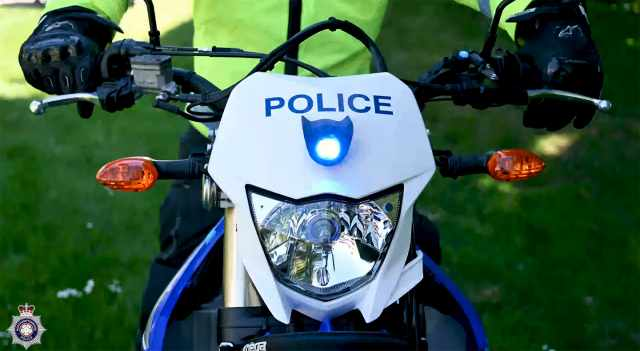 Northants offroad police squad