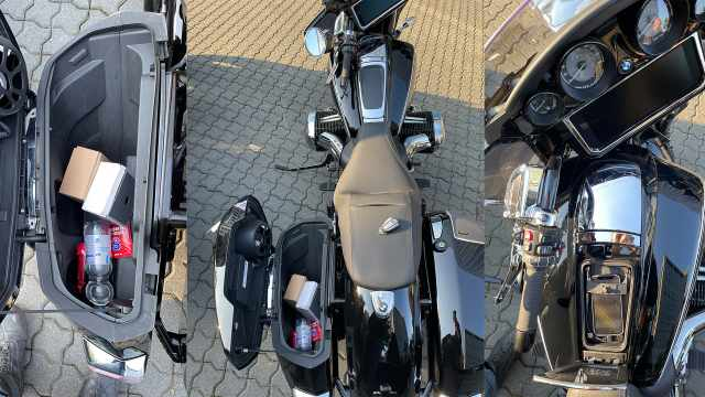 panniers and compartment