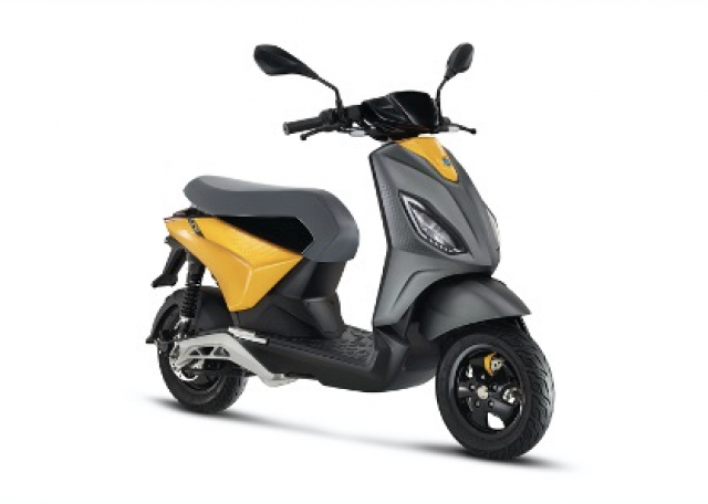Piaggio one electric scooter