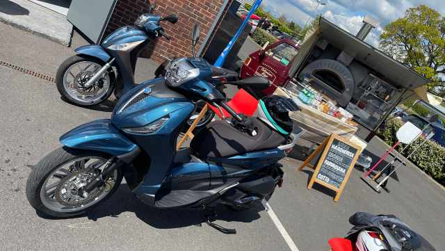 Piaggio scooters made in italy