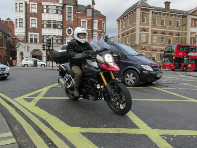 Motorcycle filtering