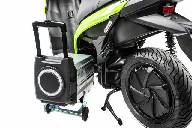 silence battery electric wheels