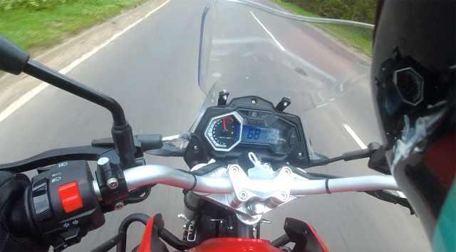 sinnis t125 top speed