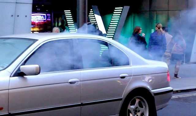 smokey car