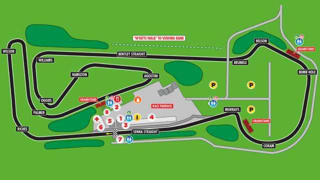 snetterton 300 circuit map