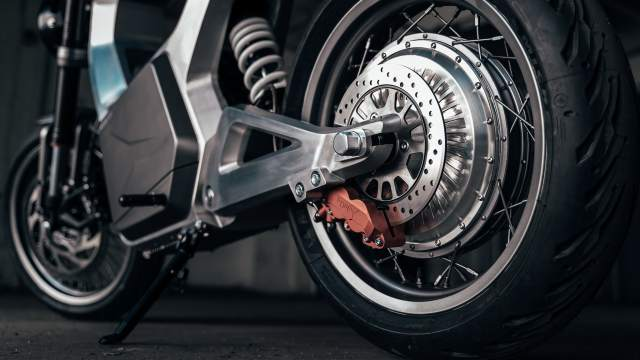 Sondors Metacycle rear hub