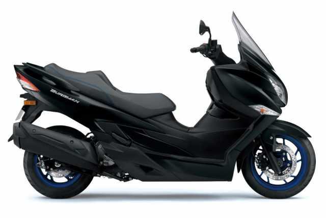 Suzuki Burgman 400 Matte Black