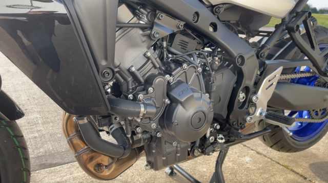 Yamaha Tracer 9 GT CP3 engine