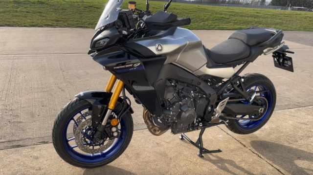 Yamaha Tracer 9 GT 2021 side
