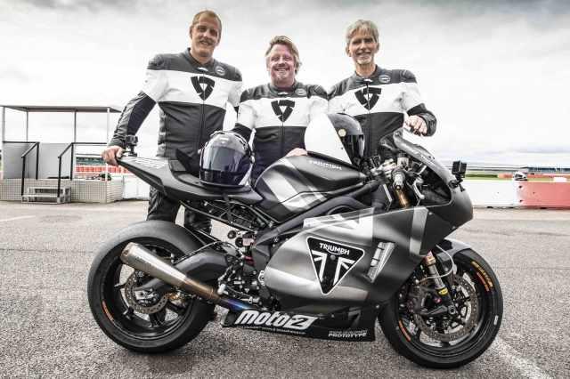 charley boorman ben bowers damon hill triumph moto2