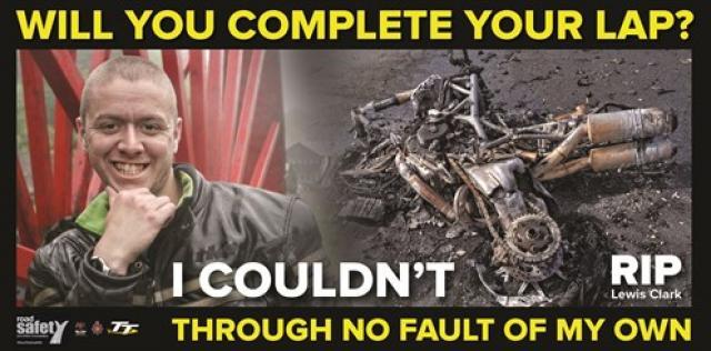 Isle of Man TT safety message