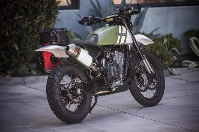 Urban Assault Roland Sands KTM 790 Adventure
