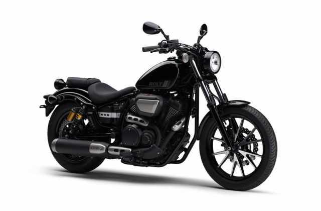 Yamaha Bolt cruiser metallic black